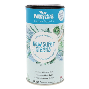 Creative Nature Pure Spirulina Powder 150g