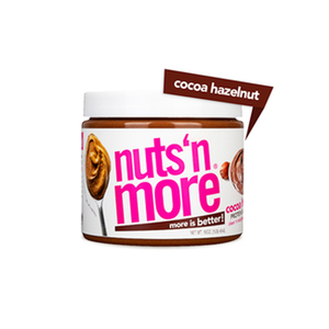 Nuts 'n More High Protein Cocoa Hazelnut Peanut Butter Spread 454g