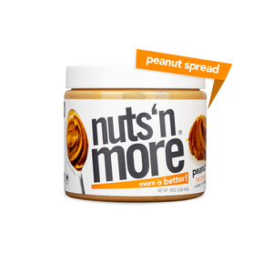 Nuts 'n More High Protein Peanut Butter Spread 454g