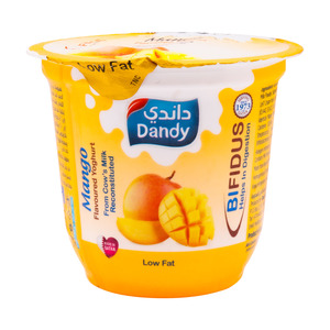 Dandy Mango Flavored Yoghurt Low Fat 120g