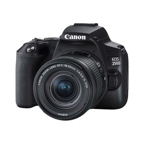 Canon DSLR Camera EOS250D 18-55mm DC Lens Black