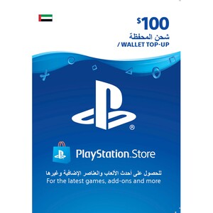 Sony ESD Wallet top up - 100 USD UAE [Digital]