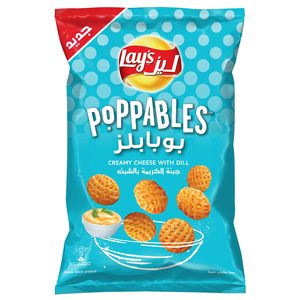 Lays Poppables Creamy Cheese with Dill 150g