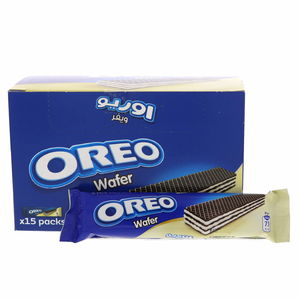 Oreo Cocoa Wafer With Vanilla Flavoured Filling 15 x 14.2g