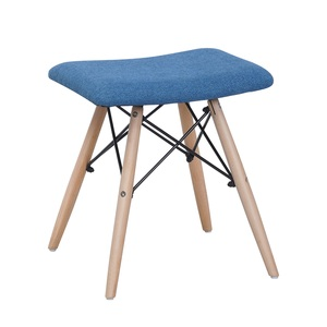 Maple Leaf Home Wooden Stool 32x42x44cm Blue