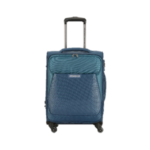 American Tourister Southside 4Wheel Soft Trolley 55cm Blue