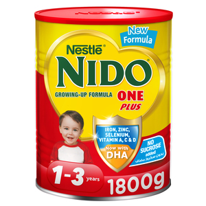Nestle Nido One Plus Growing Up Milk Powder For Toddlers 1-3 Years 1.8kg