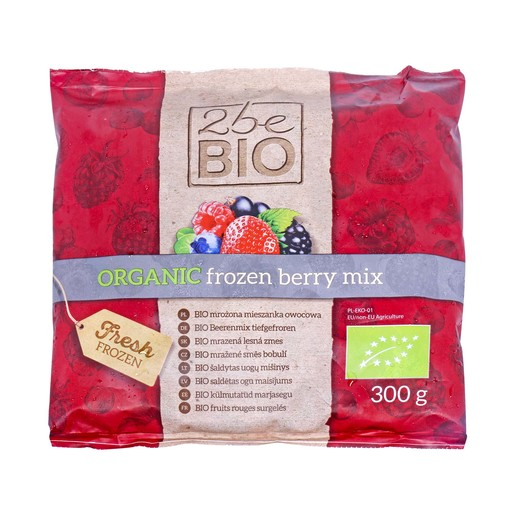 2be Bio Organic Frozen Berry Mix 300g