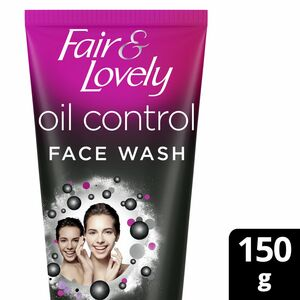 Fair & Lovely Fairness Face Wash with Activated Charcoal 150g