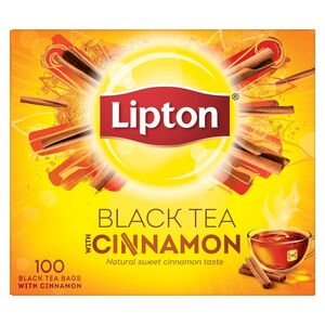 Lipton Flavoured Black Tea Cinnamon 100pcs