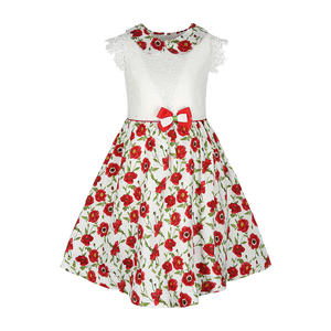Debackers Girls Cotton Frock 0718-GJLZ-79 2-8 Y