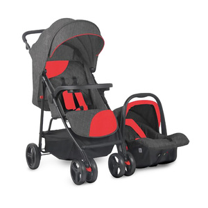 First Step Stroller With Car Seat KDD6789ZY Red