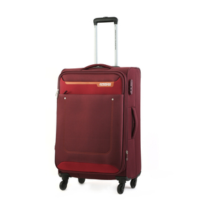 American Tourister Jackson 4Wheel Soft Trolley 57cm Maroon