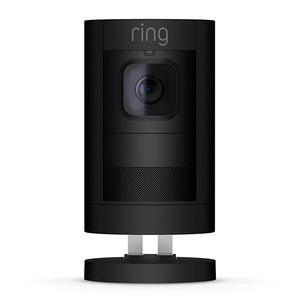 Ring Stick Up Cam Battery HD Security Camera with Two-Way Talk, Night Vision, Black