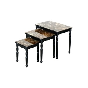 Maple Leaf Home Nesting Tables 3pcs Set B-E3