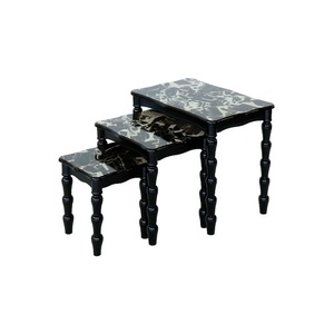 Maple Leaf Home Nesting Tables 3pcs Set B-B7