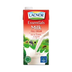 Lacnor Essentials Full Cream Milk 1Litre