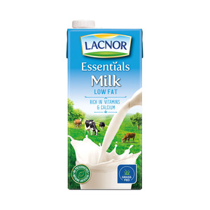 Lacnor Milk Low Fat 1Litre
