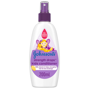 Johnson's Conditioner Strength Drops Kids Conditioner Spray 200ml