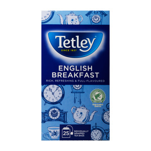 Tetley Tea English Breakfast 25pcs