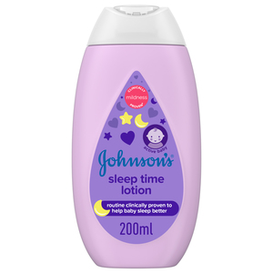 Johnson's Lotion Sleep Time Lotion 200ml