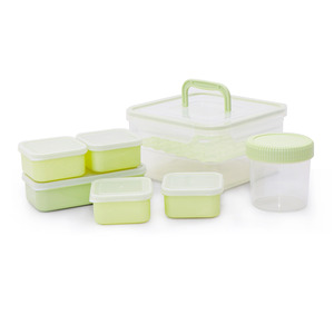 Home Food Container 1050 7pcs Assorted Color
