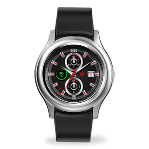 Mykronoz Smart Watch ZeRound3 Silver Black