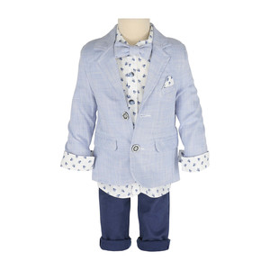 Cortigiani Infant Boys Suit 4Pcs Set 0303