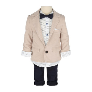 Cortigiani Infant Boys Suit 4Pcs Set 0301