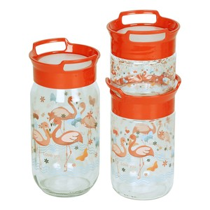 Sarina Decorated Jar S-679 3pcs