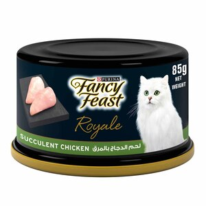 Purina Fancy Feast Wet Cat Food Royale Roasted Chicken 85g
