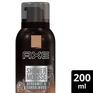 Axe Bodywash for Men Aerosole Bergamot Mousse 200ml