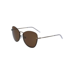 Dkny Women's Sunglass 100S57 Butterfly Brown