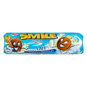 Smile Cream Biscuits with Milk Flavor 190g