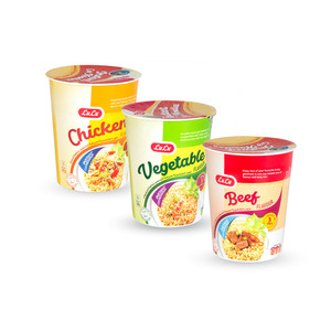 Lulu Instant Cup Noodles Assorted 3 x 60g