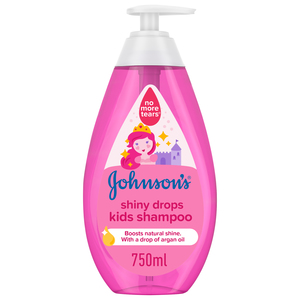 Johnson's Shampoo Shiny Drops Kids Shampoo 750ml