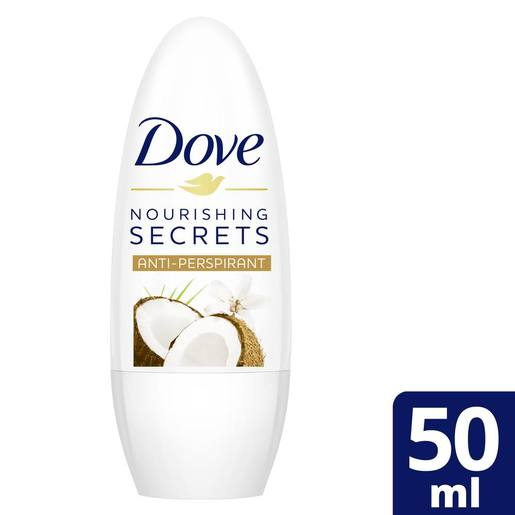Dove Antiperspirant Roll-On Coconut and Jasmine 50ml