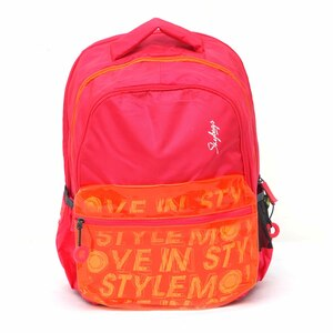 "Skybags Backpack Figure 2 18"" Pink"