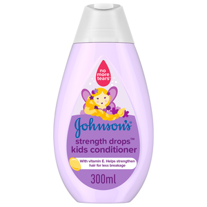 Johnson's Conditioner Strength Drops Kids Conditioner 300ml