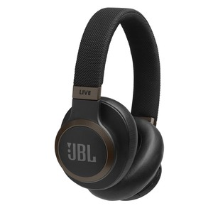 JBL Wireless Over-Ear Noise Cancelling Headphone LIVE650BTNC Black