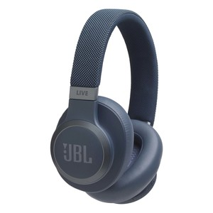 JBL Wireless Over-Ear Noise Cancelling Headphone LIVE650BTNC Blue