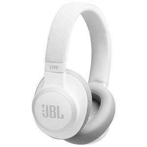 JBL Wireless Over-Ear Noise Cancelling Headphone LIVE650BTNC White