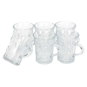 Crystal Drops Coffee Mug Berry 6pcs