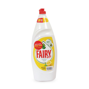 Fairy Dishwashing Liquid Lemon 1.35Litre