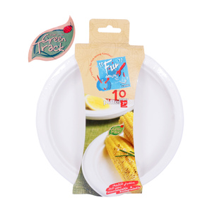 Fun Paper Plates Biodegradable 7inches 10pcs