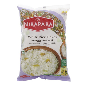 Nirapara White Rice Flakes 400g