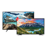 "Samsung Ultra HD LED TV UA55RU7100 55""+ Samsung Full HD LED TV UA49N5300AKXZN 49"""