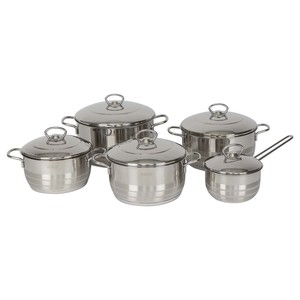 Vivaldi Stainless Steel Cookware Set 10pcs