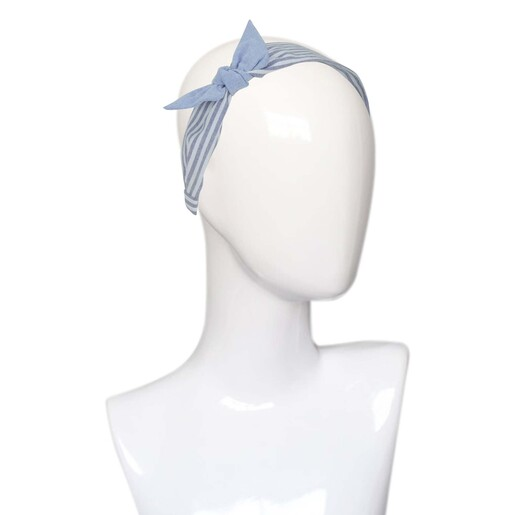 Eten Wide Head Band with Ribbon