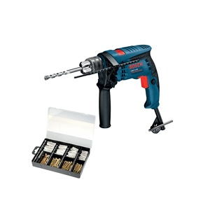 Bosch Professional Hammer Drill GSB13RE 600W + Accessories 173pcs